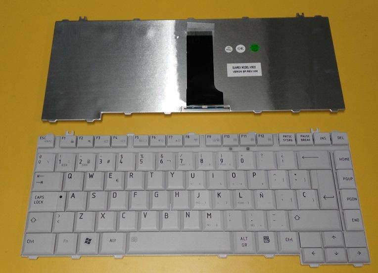 piezasdeportatil.es - Teclado Toshiba A300 gris claro