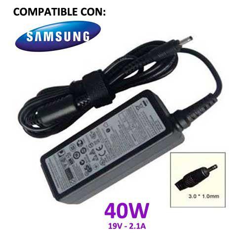 piezasdeportatil.es - Alimentador compatible Samsung 19v 2.1a 40w 3mm x 1mm - www.piezasdeportatil.es - Venta de repuestos y piezas de port�tiles de todas las marcas