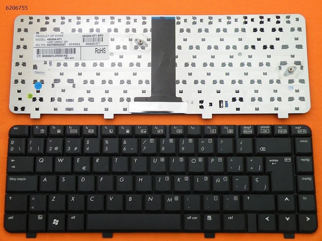 piezasdeportatil.es - Teclado Compaq 6520,6720s,6730s,6735s  negro